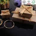 creativo de cartón caja de regalo con tapa para la joyería de embalaje