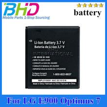 High capacity battery for LG E900 Optimus 7