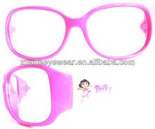 fashion children's plastic orange kids sunglasses