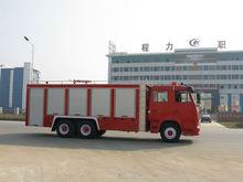 6*4 Steyr / HOWO 10,000-20,000 water tank foamfire rescue trucks/led light bar fire truck/electric fire truck