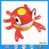 Animal inflatable beach ball, inflatable animal crab shape beach ball, inflatable crab toy for kids