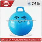 18 inch quadrate handle Jumping bouncing ball led bouncing balls