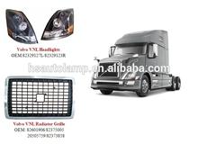 Camiones de servicio pesado camión volvo vnl piezas/la parrilla del radiador/parrilla cromada