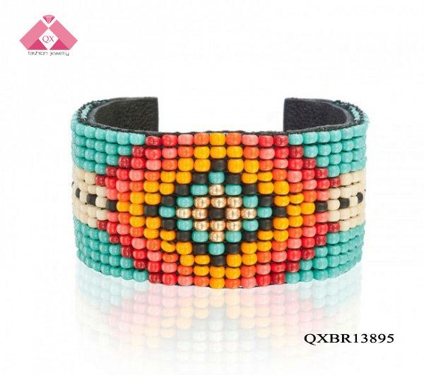 Half bracelet cuff 2013 popular beaded bracelets bijoux fantaisie