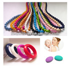 Round Large Beads Necklace/Loose Beads with String