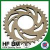 Motorcycle Wheel Sprocket 35T Electrophoresis, Cheap Motorcycle Sprocket Wheel 35t High Quality