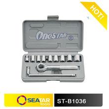 "2013 Hot Sale 1/2""Square Driver 11pcs L Handle Torque Wrench Heavy Duty Double Component Handles"