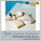 Elegant Oval Rattan Outdoor Furniture Sofa Set C041-E