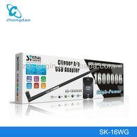 External Antenna Signalking 160000G 54Mbps 1200mW 38dBi 8187L USB Wifi Adaptor Wifi Adapter Wifi Driver Antenna