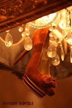 Rockin' Reptile embellished flat shoes
