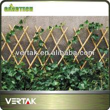 Garden bamboo fencing