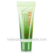 Plasitc green colorful tube