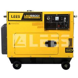 5kw soundproof diesel generator super silent home use one year warranty