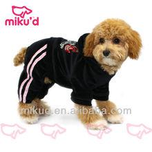 Cute girl design dog jumpsuits 2015