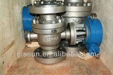 TP 304 flanged ball valve