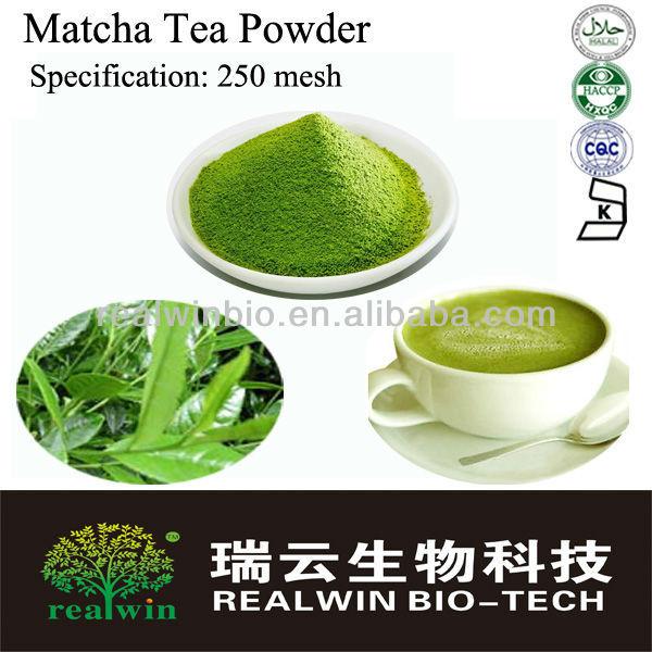 ... de chá verde matcha pó/chá verde pó do extrato/pó de matcha