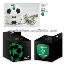 4-Ports football shape USB HUB