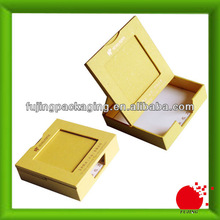 Flexible Yellow Square bracelet boxes