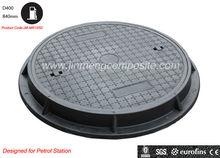 EN124 jinmeng brand ductile cast iron manhole cover SGS