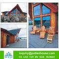 Russo wide - usado funcional de madeira casa pré-fabricada