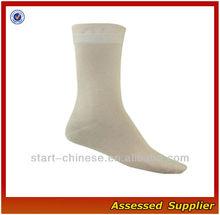 Wholesale White Men Bamboo Dress Socks/High Quality Men's 100% Bamboo Working Thick Socks Shell1234