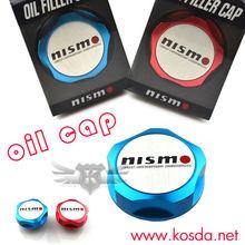 Polished Anodized Aluminium NISMO Oil Cap For Nissan SKYLINE SILVIA GTR GTS