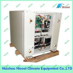 geothermal ground source heat pump ( water source heat pump)