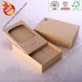 el diseño del oem de papel kraft de embalaje reciclables de la caja