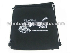 Recycle and Eco Drawstring Cotton Bag