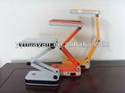 Folding led desk lamp/Flexible rechargeable led desk lamp/