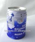 692# 250ml tin empty beverage can