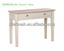 Living room furniture French style wooden console table