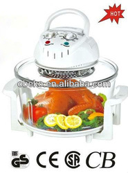 Multifunctional halogen convection oven for home use