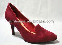 low price high heels red diamond women shoes