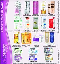 los cosméticos naturales requiere comprador de todo el mundo