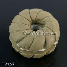 Fake round cake pendant