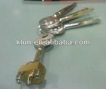 cross key cylinder lock