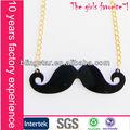 venta caliente de moda collar collar de bigote
