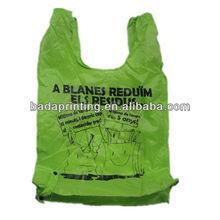190T T 'Shirt Polyest Foldable Shopping Bag