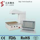Mini laser engraving machinery