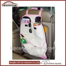 Nice car organizer seat back pocket for lady