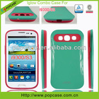 [2013 hot selling case]glow combo phone covers for samsung S3 i9300