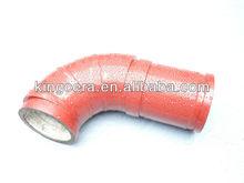 High quality Concrete pump reducer bend