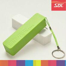Hot Keychain Perfume power bank for Samsung / Portable li-ion battery Charger / Mobile Lipstick usb power bank