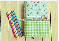 Beautiful new fashion style flexible a5 book cover