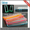 Glossy Luminous Glow Bumper for iphone 5 case,phone accessories for iphone 5S