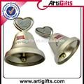 personalizado plateado pequeñas campanas de metal