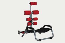 AB machine with red color easy to use enterainment products
