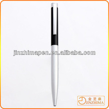 High quality metal ball pen promotional brushed metal ballpoint pen