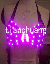 LED Brassiere / Light Up Bra and Panty / Club & Bar Dance Dress